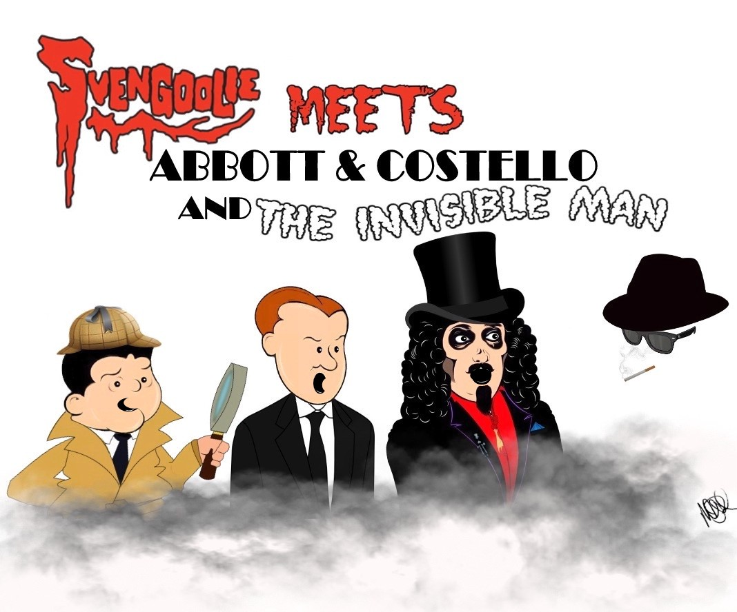 2015 Svengoolie Meets Abbott Costello and The Invisible Man © Michael Pohrer